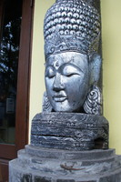 East Asian Buddha statue sculpture