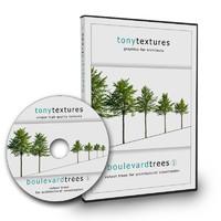 Cutout Boulevard Trees V01
