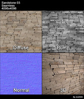 Sandstone Seamless Texture 03