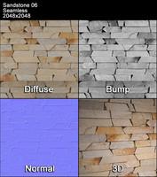 Sandstone Seamless Texture 06