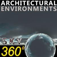 Sky 360 Clouded 002