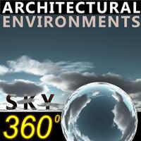Sky 360 Clouded 010