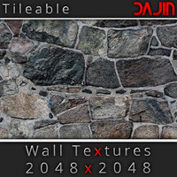 Stone Wall Tileable 2048x2048