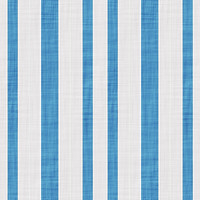 Coordinated Cottons - Blue on White Stripes
