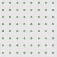 Coordinated Cottons - Green on White Polka-Dots