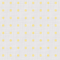 Coordinated Cottons - Yellow on White Polka-Dots