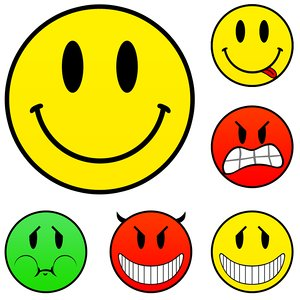 Classic smileys set source file