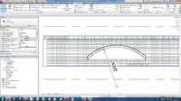 arched lintel parametric revit rfa 3d model radius wall