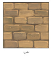 Mud Wall Stone Tile