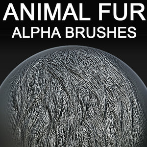 Animal Fur Alpha Brushes