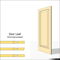 Door Leaf Moulding 01461se