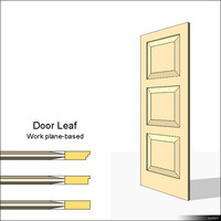 Door Leaf Moulding 01463se