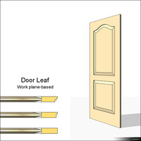 Door Leaf Moulding 01465se