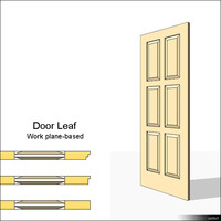 Door Leaf Moulding 01469se