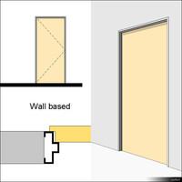 Door Swing Single Metal Block 01479se