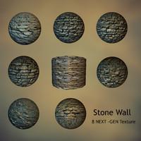 8 Stone Walls Texture
