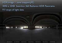 PARKING GARAGE 360 HDR PANORAMA # 218