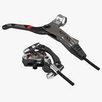 bicycle brake caliper avid 3d 3ds