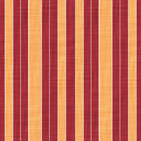 Coordinated Cottons - Apricot on Red Stripes