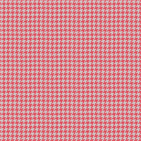 Country Club Twills - Ocean Sunrise Coral Houndstooth