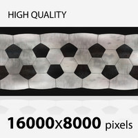 Football realistic ball 16000x8000