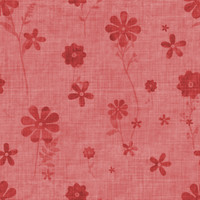 Fun with Florals - Red Floral 2