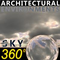 Sky 360 Clouded 006