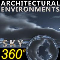 Sky 360 Clouded 013