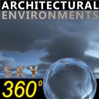 Sky 360 Clouded 014