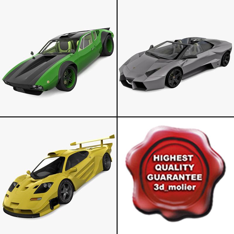 3d model supercars 7