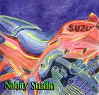 Suzuki Motorcycle Drawing