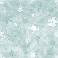 Fun with Florals - Teal Floral 1