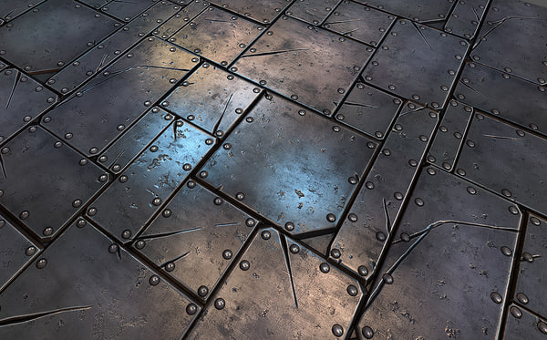Texture Other metal plate tile