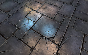 Metal Plate Tile 01