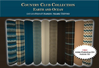 Country Club Twills - Earth and Ocean