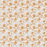 Coordinated Cottons - Apricot on White Floral