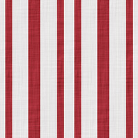 Coordinated Cottons - Red on White Stripes