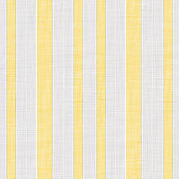 Coordinated Cottons - Yellow on White Stripes