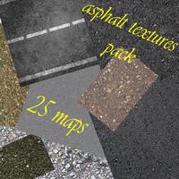 seamless asfalt textures pack