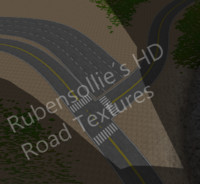 18 Seamless HD Road Textures