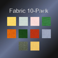 Fabric 10 Pack