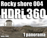 Hdr Rocky shore 004