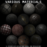 Various Materials Texture Pack