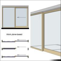 Door Set Sliding Single wpb 00634se