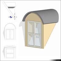 Dormer Arched Roof 01412se