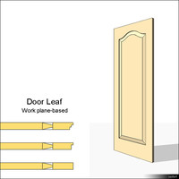 Door Leaf Moulding 01467se
