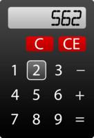 Calculator preloader