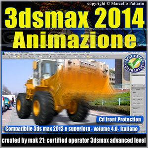 3ds max 2014 Animazione v.4.0 Italiano_cd front