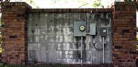Brick Concrete Wall Electrical