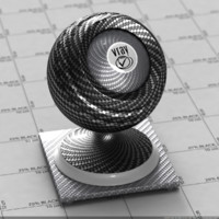 Carbon Fiber Material - 5 Colors